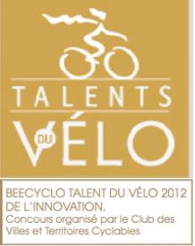 Beecyclo, talent du vélo 2012